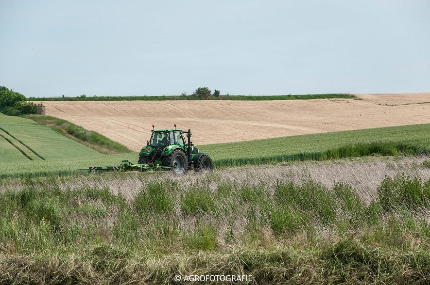 Deutz-Fahr Agrotron 6190 TTV + Krone KS 6-6.60 20 DUO (Harken, Everaert, 25-06-2015) (2 van 54)