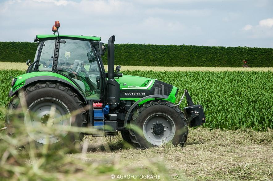 Deutz-Fahr Agrotron 6190 TTV + Krone KS 6-6.60 20 DUO (Harken, Everaert, 25-06-2015) (41 van 54)