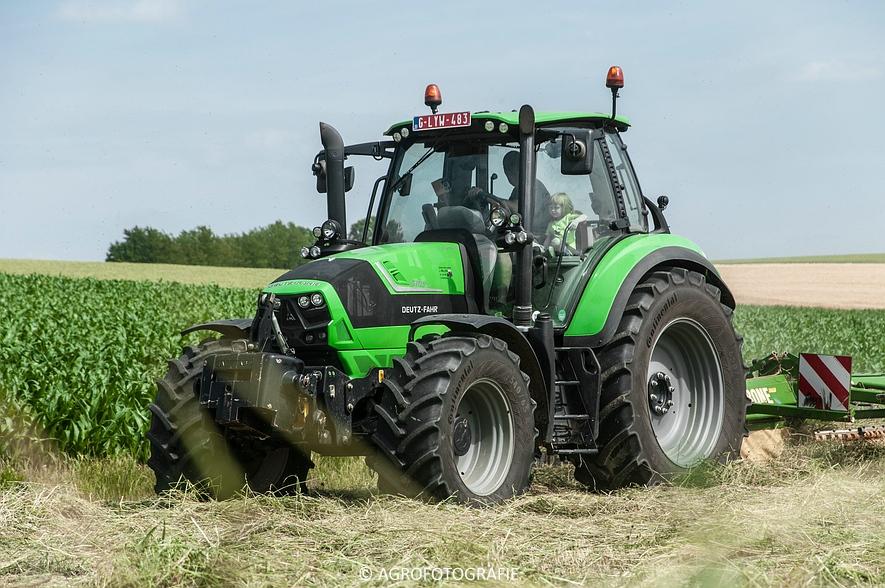 Deutz-Fahr Agrotron 6190 TTV + Krone KS 6-6.60 20 DUO (Harken, Everaert, 25-06-2015) (8 van 54)
