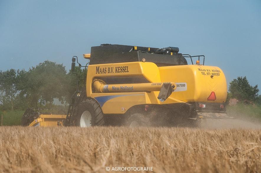New Holland CSX 7050 (Graan, 12-08-2015, Maas BV) (14 van 31)