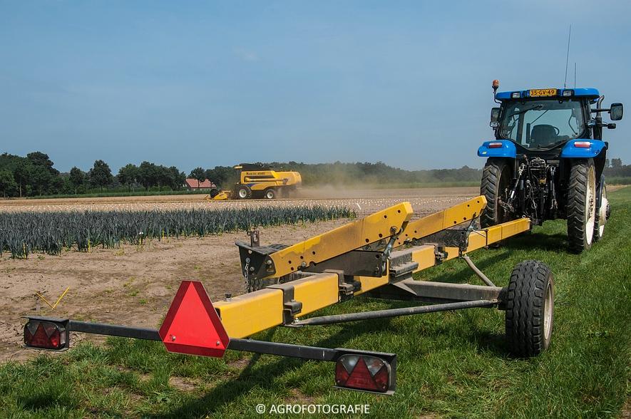 New Holland CSX 7050 (Graan, 12-08-2015, Maas BV) (29 van 31)