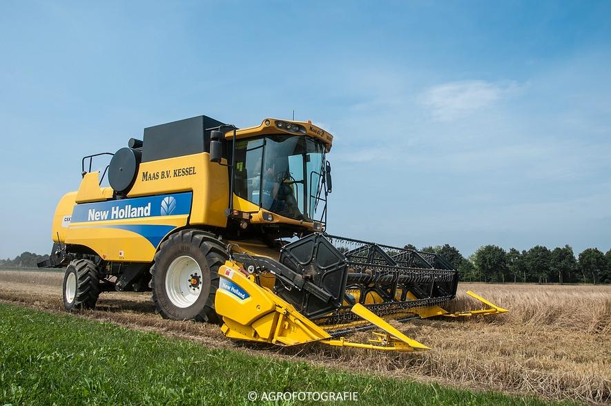 New Holland CSX 7050 (Graan, 12-08-2015, Maas BV) (4 van 31)