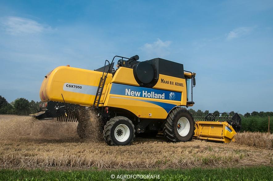 New Holland CSX 7050 (Graan, 12-08-2015, Maas BV) (7 van 31)