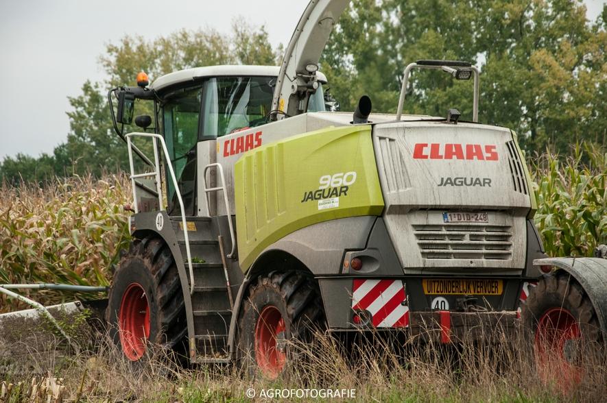 Claas Jaguar 960 + Fendt (Janssens, 16-10-2015) (2 van 50)