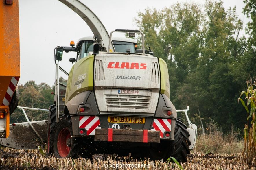 Claas Jaguar 960 + Fendt (Janssens, 16-10-2015) (29 van 50)
