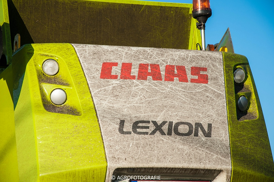 Claas Lexion 630 & Fendt 820 + Joskin Drakkar 7600 33D180 (50 van 53)