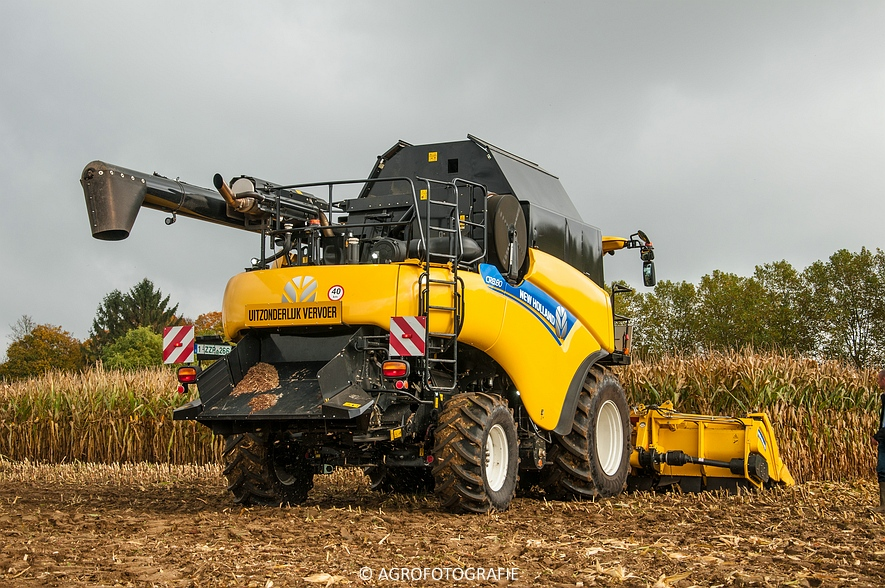 Demo New Holland FR 650 & CR8.80 (Loverjoel, 25-10-2015) (102)
