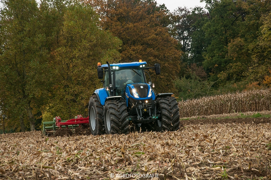 Demo New Holland FR 650 & CR8.80 (Loverjoel, 25-10-2015) (104)
