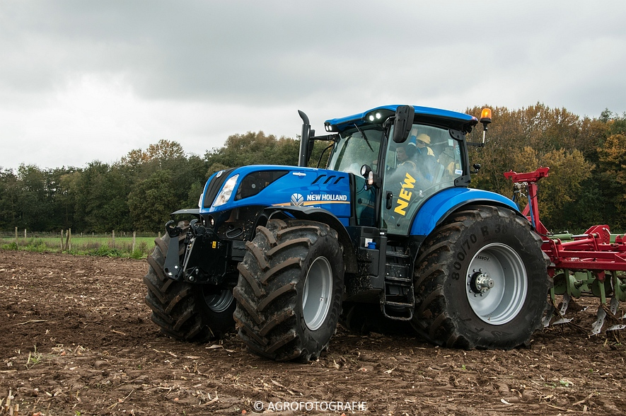 Demo New Holland FR 650 & CR8.80 (Loverjoel, 25-10-2015) (108)