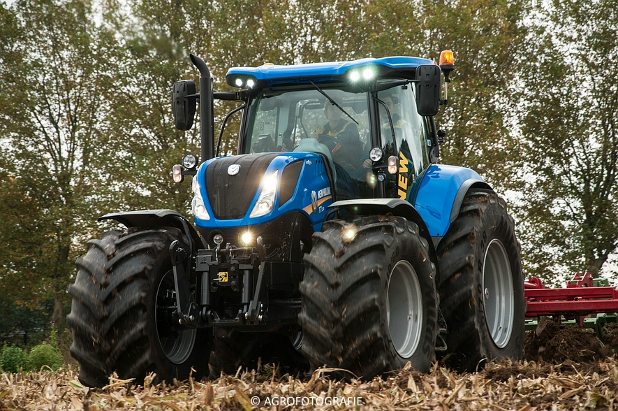 Demo New Holland FR 650 & CR8.80 (Loverjoel, 25-10-2015) (118)