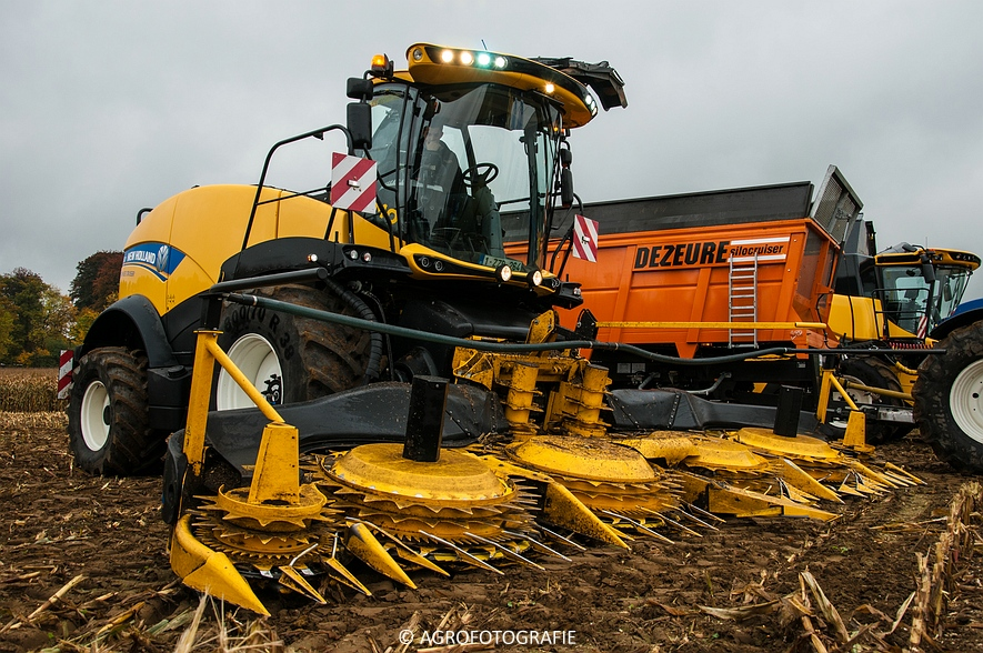 Demo New Holland FR 650 & CR8.80 (Loverjoel, 25-10-2015) (21)
