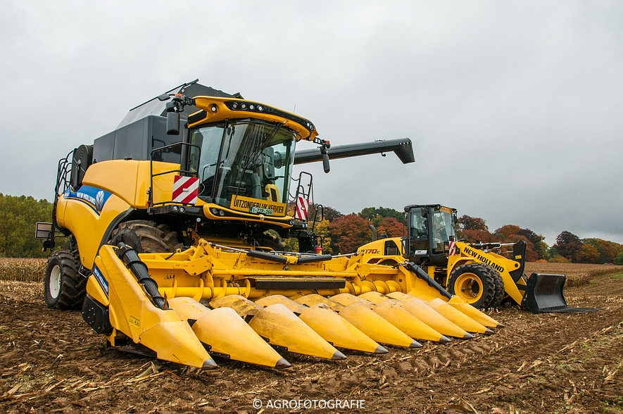 Demo New Holland FR 650 & CR8.80 (Loverjoel, 25-10-2015) (30)