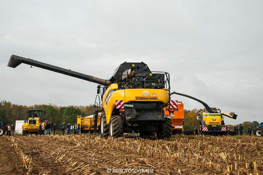 Demo New Holland FR 650 & CR8.80 (Loverjoel, 25-10-2015) (51)