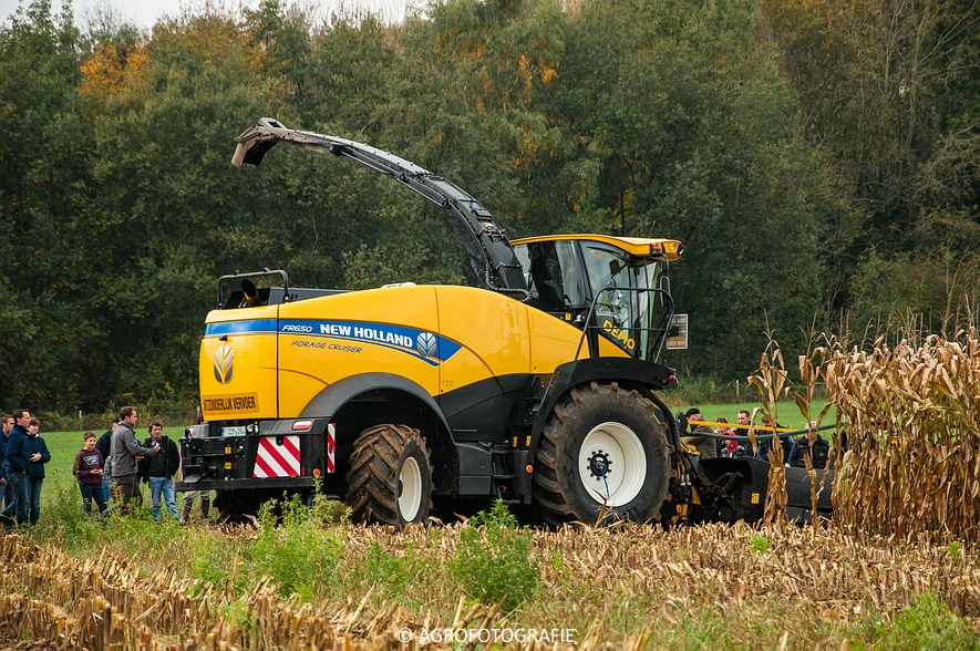 Demo New Holland FR 650 & CR8.80 (Loverjoel, 25-10-2015) (66)