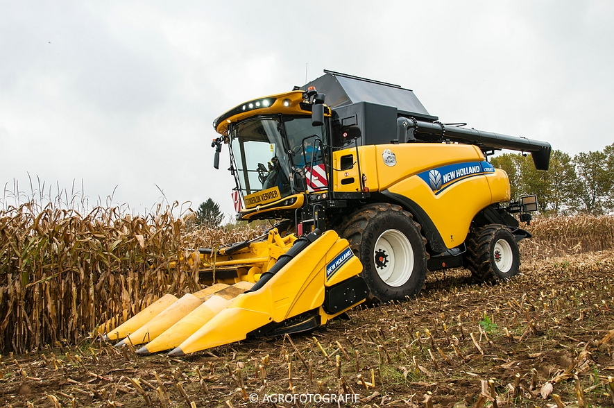 Demo New Holland FR 650 & CR8.80 (Loverjoel, 25-10-2015) (70)