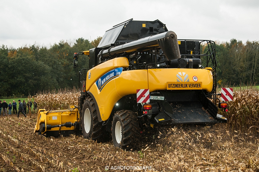 Demo New Holland FR 650 & CR8.80 (Loverjoel, 25-10-2015) (75)