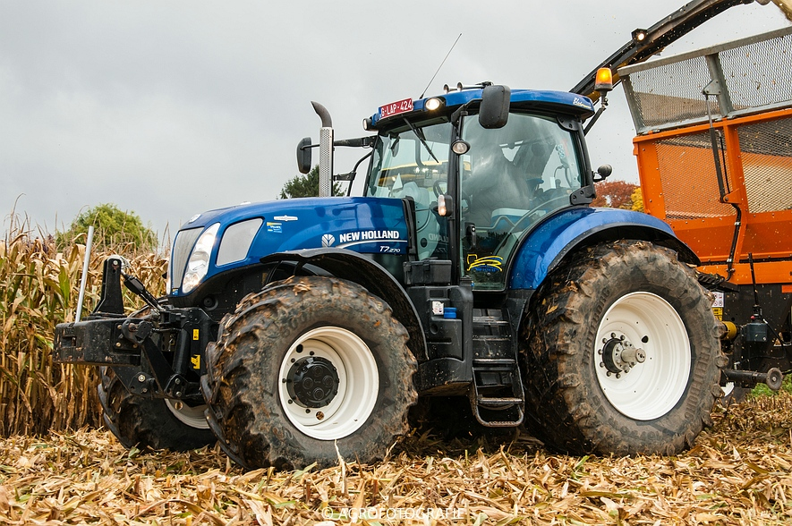 Demo New Holland FR 650 & CR8.80 (Loverjoel, 25-10-2015) (95)