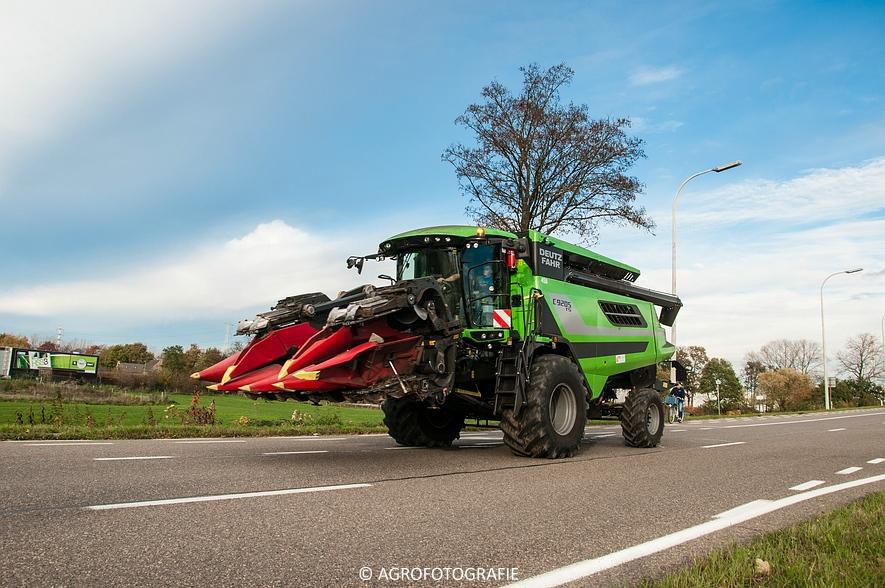 Deutz-Fahr C 9205 TS (Maïs, 06-11-2015) (64 van 66)