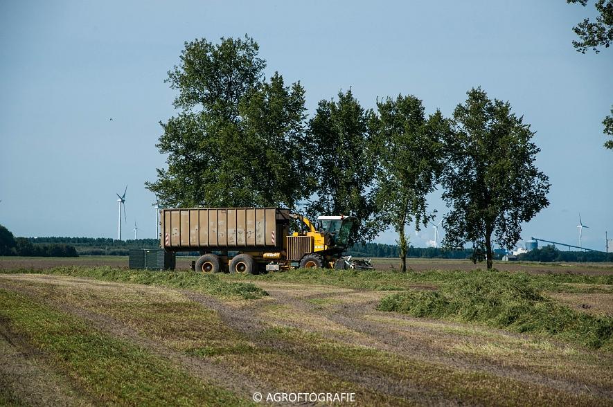CMC Mercure 4840 Henripre (bunkerhakselaar, Grasdrogerij Oldambt, 10-09-2015) (27 van 44)