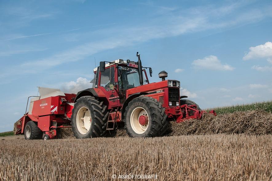 International 1455XL + Welger D6000 (56 van 58)