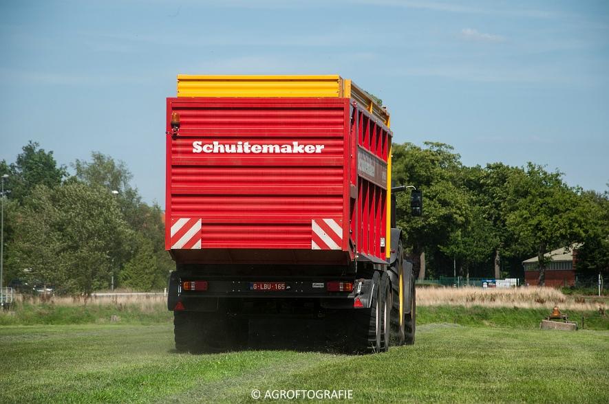 John Deere 6215R + Schuitemaker Rapide 6600 (03-08-2015) (10 van 39)