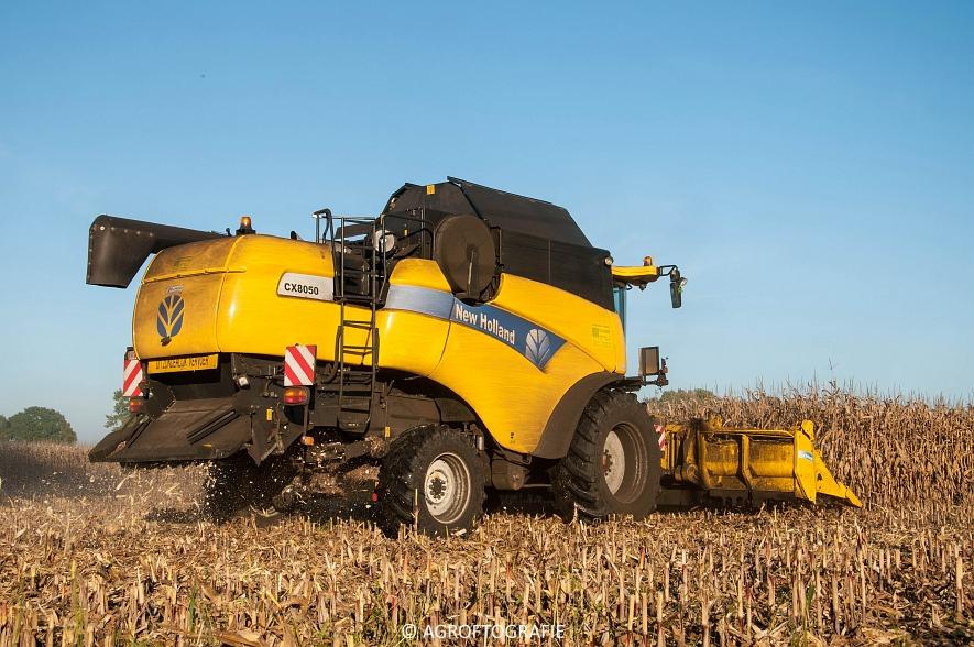 New Holland CX 8050 (Maïs, 01-11-2015) (24 van 45)