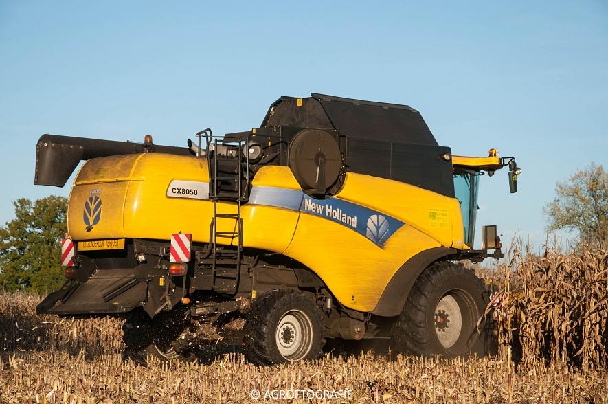 New Holland CX 8050 (Maïs, 01-11-2015) (34 van 45)