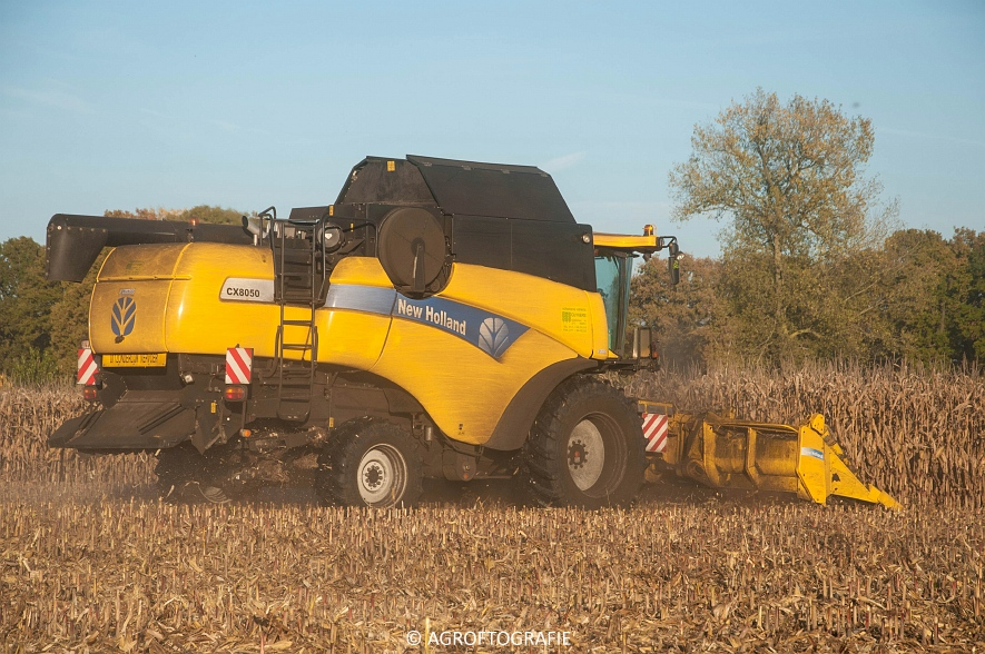 New Holland CX 8050 (Maïs, 01-11-2015) (40 van 45)