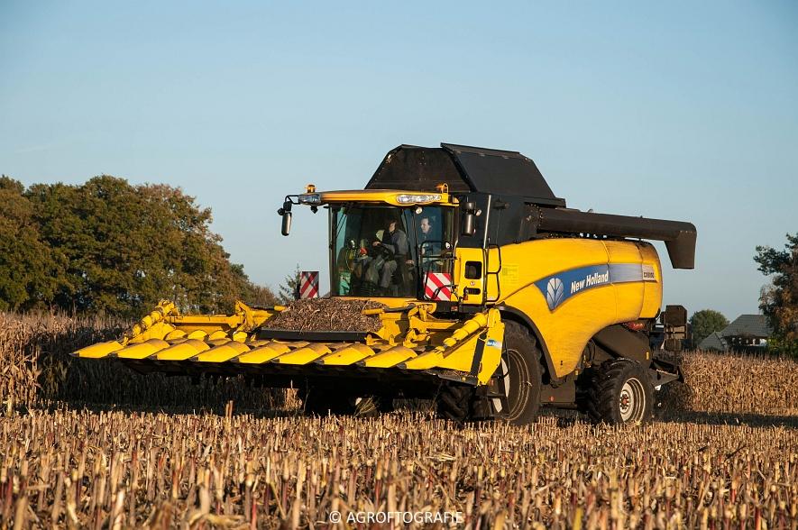 New Holland CX 8050 (Maïs, 01-11-2015) (42 van 45)