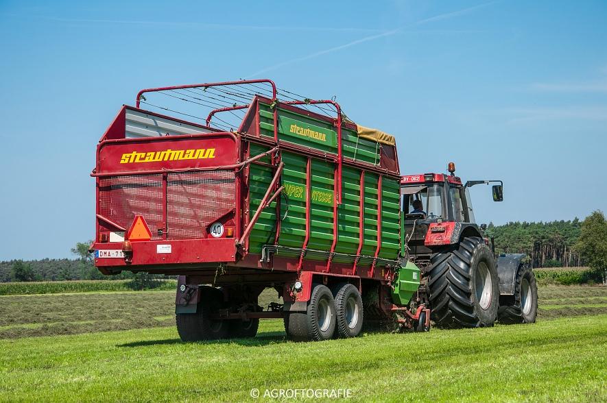 Case IH 150 CVX & Case International 1455XL + Strautmann Super Vitesse (22-08-2015) (22 van 35)