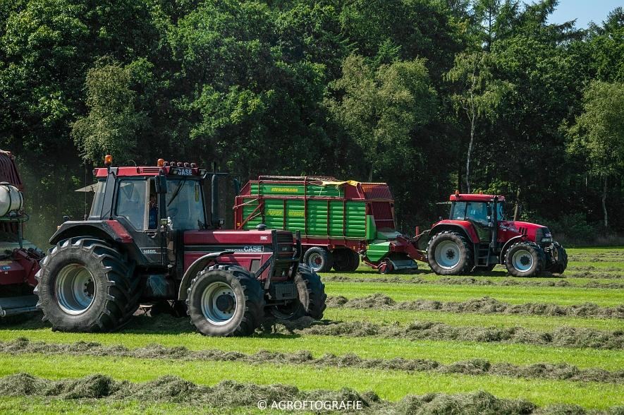 Case IH 150 CVX & Case International 1455XL + Strautmann Super Vitesse (22-08-2015) (28 van 35)