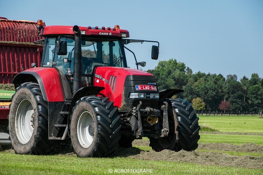 Case IH 150 CVX & Case International 1455XL + Strautmann Super Vitesse (22-08-2015) (3 van 35)