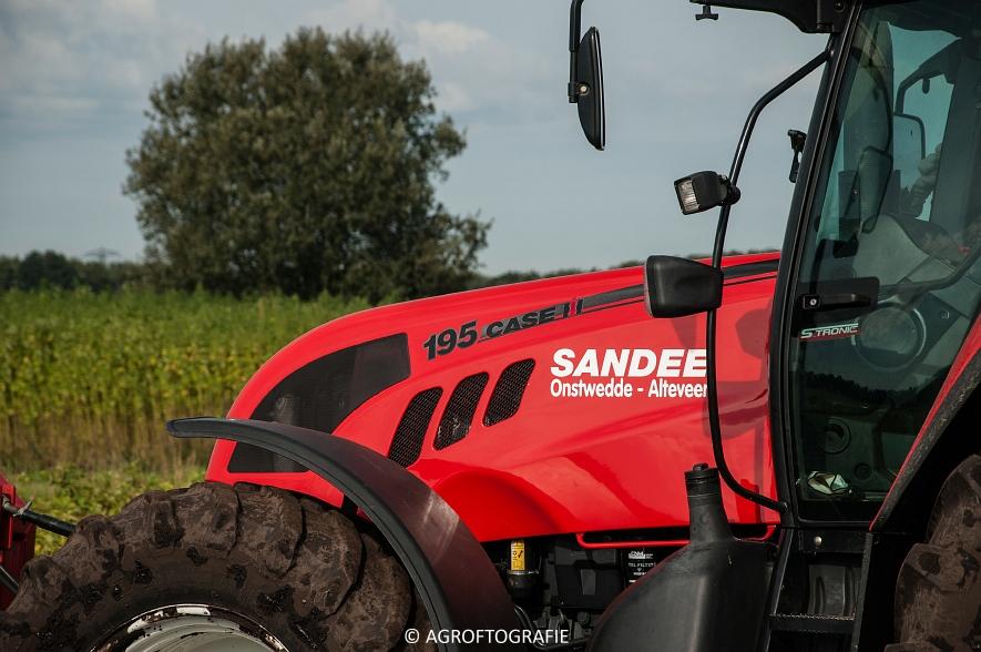 Case IH 175 CVX & Steyr + Grimme SE 150-60 (Aardappelen rooien, Sandee, 10-09-2015) (58 van 60)