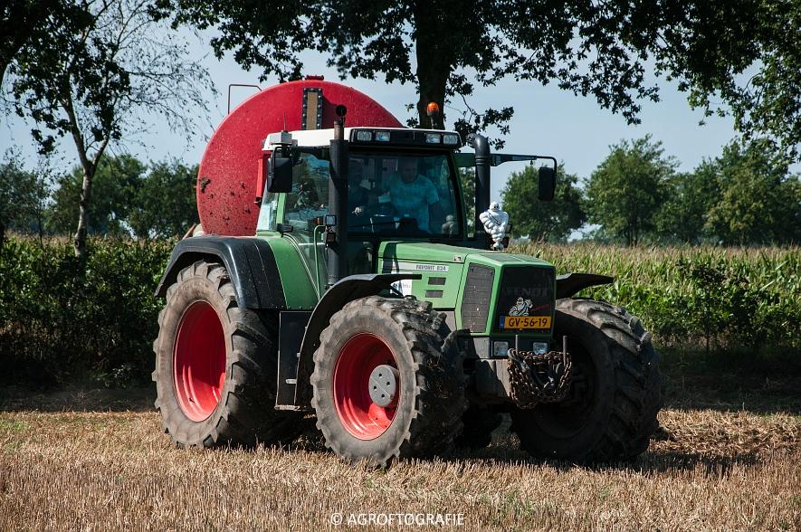 Fendt 824 + Schuitemaker Robusta (Bouwland, Van De Kruys, 31-08-2015) (18 van 49)