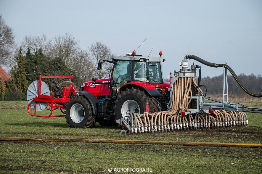 Massey Ferguson 6616 Dyna-VT (Sleepslang, 18-02-2016, Van Helmond) (41 van 43)
