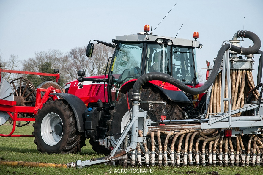 Massey Ferguson 6616 Dyna-VT (Sleepslang, 18-02-2016, Van Helmond) (9 van 43)