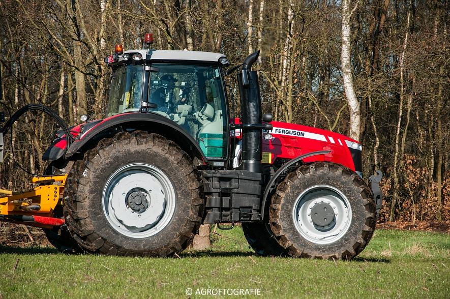 Massey Ferguson 8727 Dyna-VT + VMR Veenhuis (Grasland, 16-02-2016) (36 van 49) agrofotografie