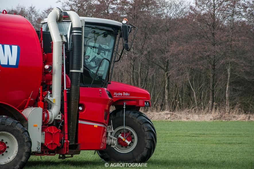 Vervaet Hydro Trike XL + Schuitemaker Exacta 940 (Grasland, 18-02-2016, Bouw) (32 van 47)