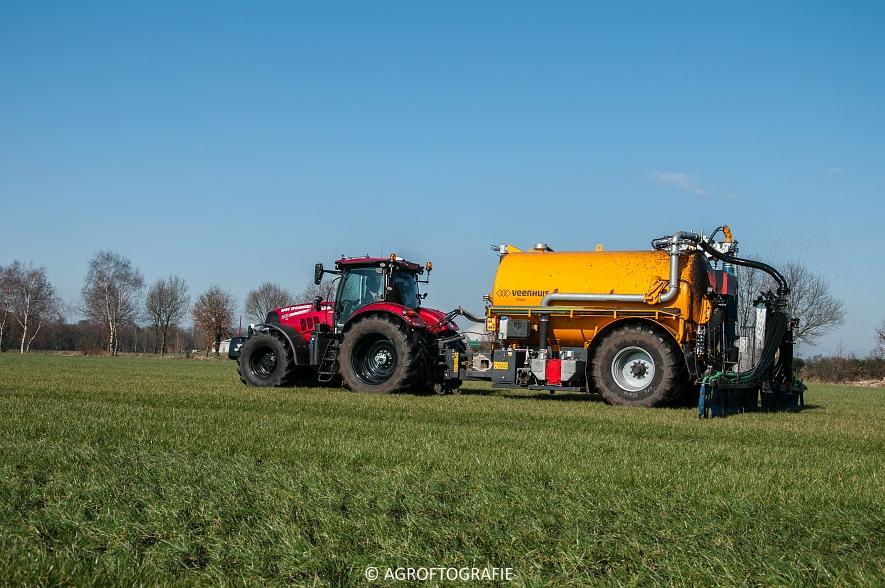 Case IH Puma 240 CVX + VMR Veenhuis (Grasland, 29-02-2016, Bart Sprangers) (20 van 65) agrofotografie