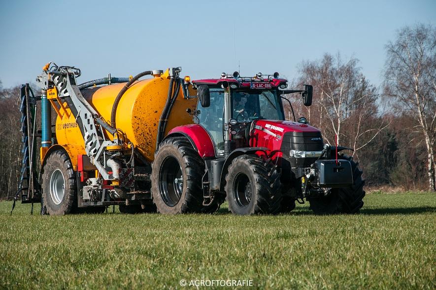Case IH Puma 240 CVX + VMR Veenhuis (Grasland, 29-02-2016, Bart Sprangers) (24 van 65) agrofotografie