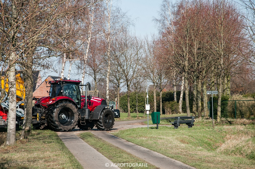 Case IH Puma 240 CVX + VMR Veenhuis (Grasland, 29-02-2016, Bart Sprangers) (29 van 65) agrofotografie
