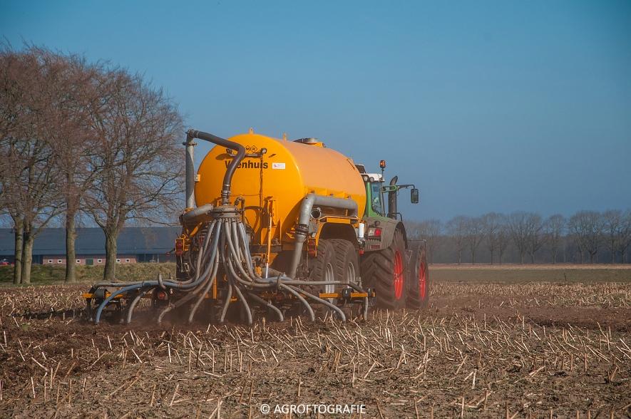 Fendt 936 Vario + VMR Veenhuis (Bouwland, 14-03-2016) (1 van 29) agrofotografie