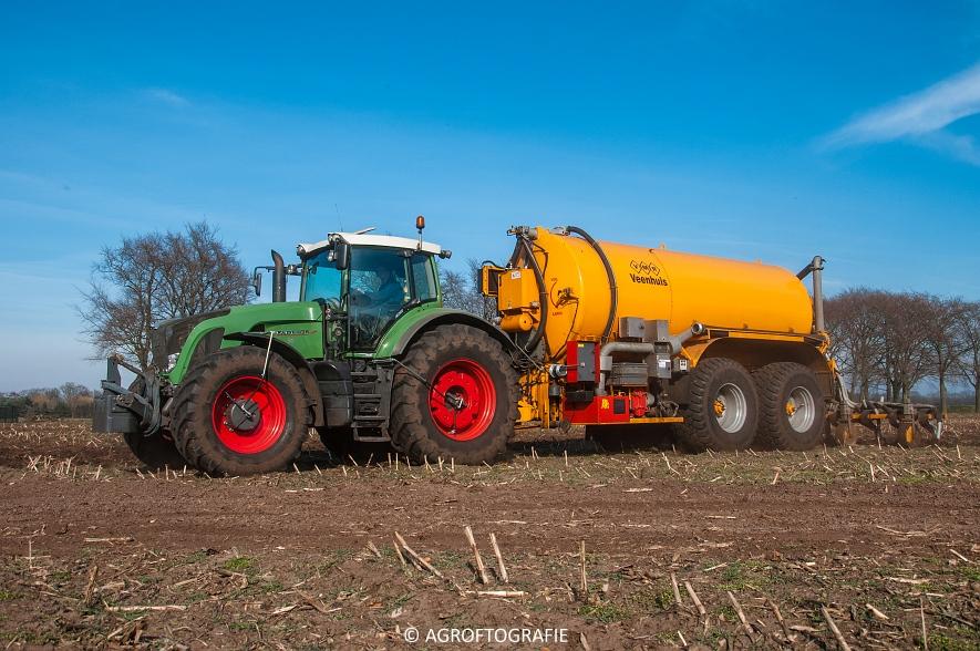 Fendt 936 Vario + VMR Veenhuis (Bouwland, 14-03-2016) (12 van 29) agrofotografie