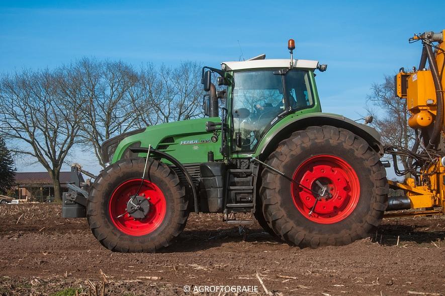 Fendt 936 Vario + VMR Veenhuis (Bouwland, 14-03-2016) (15 van 29) agrofotografie
