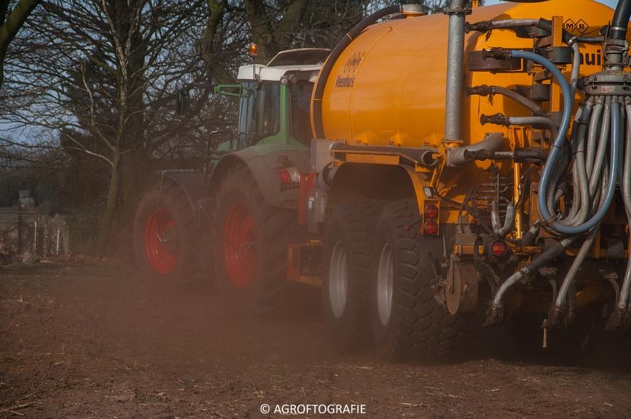 Fendt 936 Vario + VMR Veenhuis (Bouwland, 14-03-2016) (26 van 29) agrofotografie
