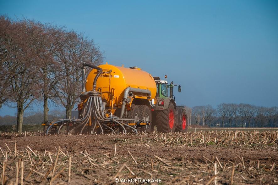 Fendt 936 Vario + VMR Veenhuis (Bouwland, 14-03-2016) (3 van 29) agrofotografie