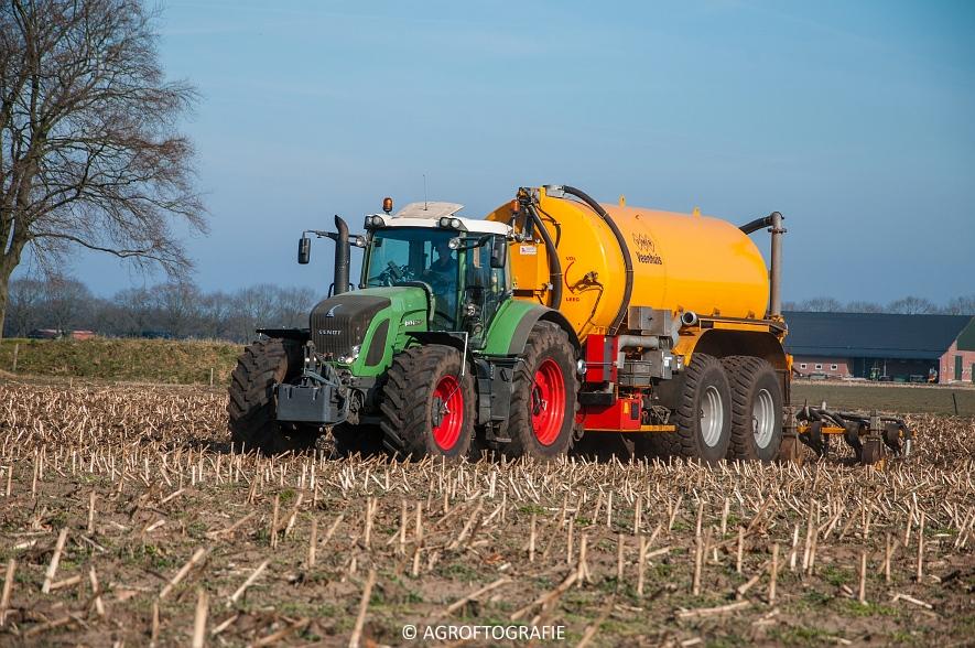 Fendt 936 Vario + VMR Veenhuis (Bouwland, 14-03-2016) (5 van 29) agrofotografie