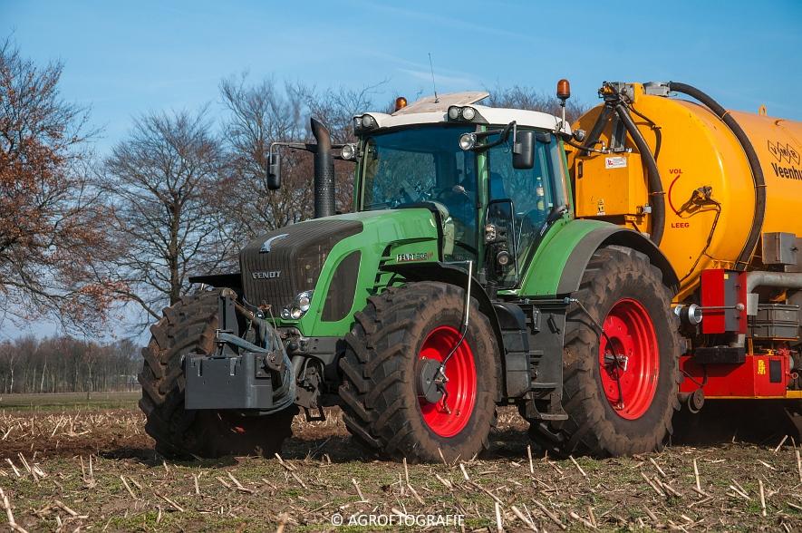Fendt 936 Vario + VMR Veenhuis (Bouwland, 14-03-2016) (7 van 29) agrofotografie