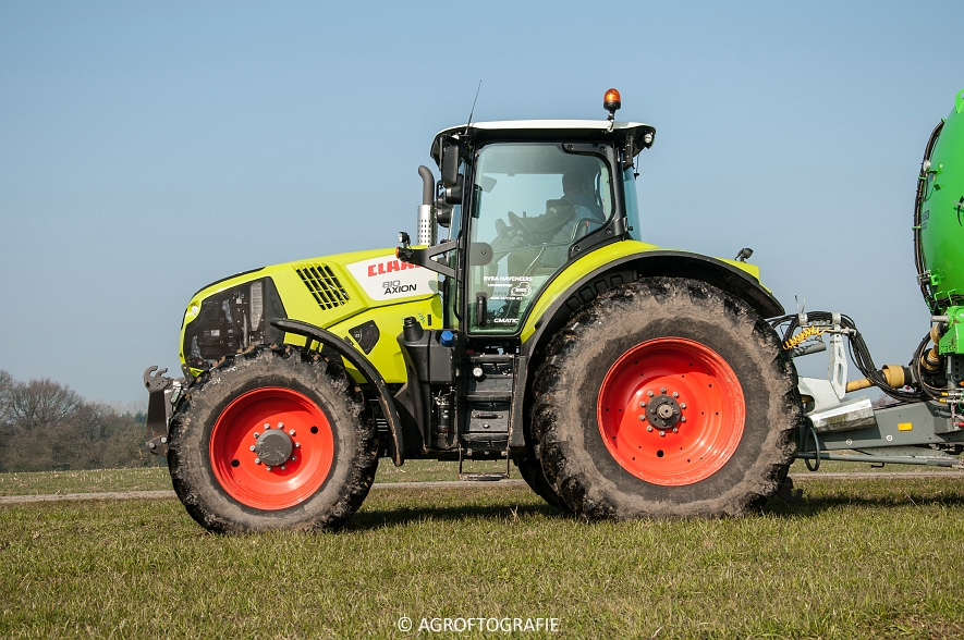 Claas Axion 850 & 810 + Joskin Cargo 26000 (ketsplaat, 12-03-2016, Haveneers) (17 van 46)