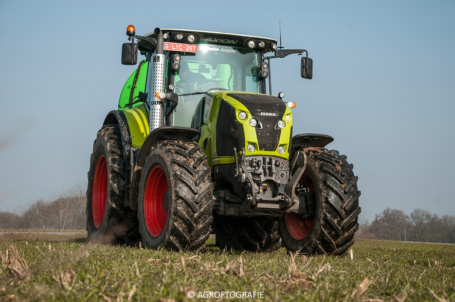 Claas Axion 850 & 810 + Joskin Cargo 26000 (ketsplaat, 12-03-2016, Haveneers) (25 van 46)